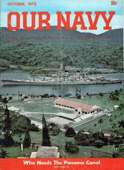 October 1972 Issue of Our Navy Magazine