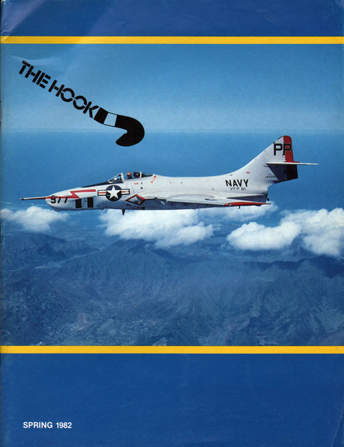 Front Cover - The Hook - Tailhook Salute - Spring 1982