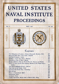 1945-05 Naval Institute Proceedings