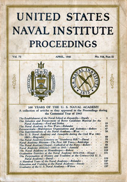 1946-04 Part Two Naval Institute Proceedings