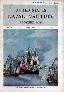 1953-04 Naval Institute Proceedings