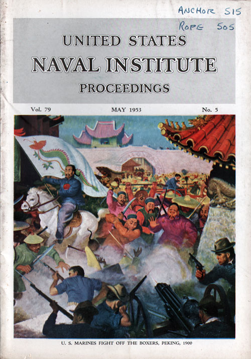 May 1953 Proceedings Magazine: United States Naval Institute