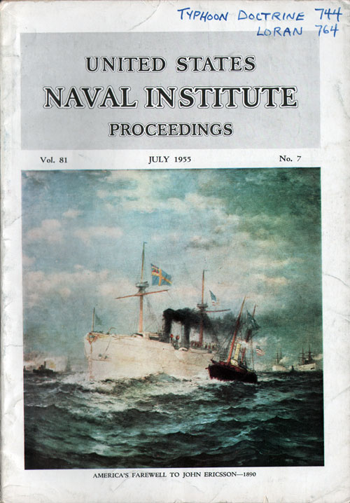 July 1955 Proceedings Magazine: United States Naval Institute