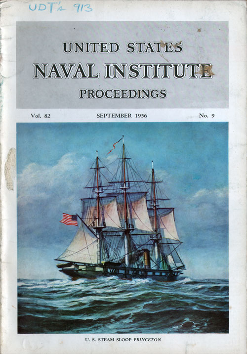 September 1956 Proceedings Magazine: United States Naval Institute