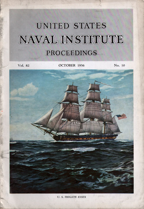 October 1956 Proceedings Magazine: United States Naval Institute