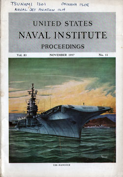 1957-11 Naval Institute Proceedings
