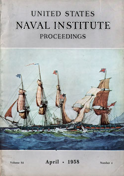 1958-04 Naval Institute Proceedings