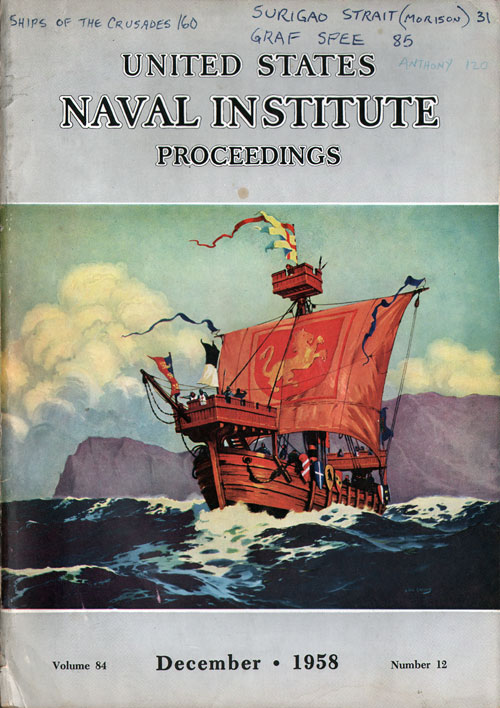 December 1958 Proceedings Magazine: United States Naval Institute