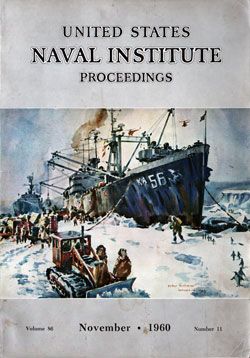 November 1960 Proceedings Magazine: United States Naval Institute