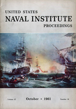 October 1961 Proceedings Magazine: United States Naval Institute