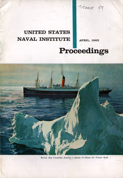 April 1962 Proceedings Magazine: United States Naval Institute