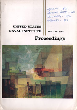 January 1965 Proceedings Magazine: United States Naval Institute