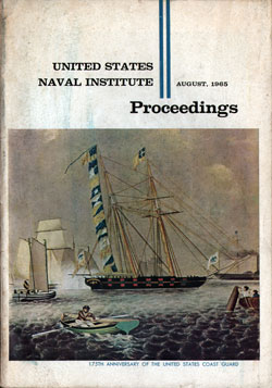 August 1965 Proceedings Magazine: United States Naval Institute