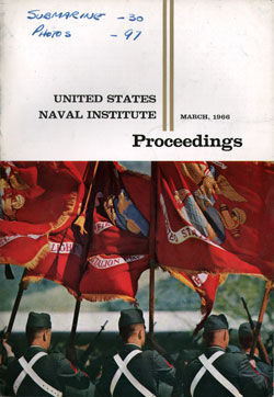 March 1966 Proceedings Magazine: United States Naval Institute