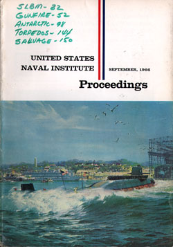 September 1966 Proceedings Magazine: United States Naval Institute