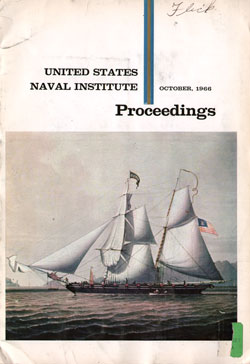 October 1966 Proceedings Magazine: United States Naval Institute