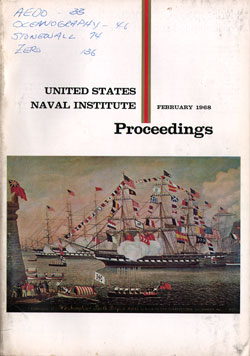 February 1968 Proceedings Magazine: United States Naval Institute
