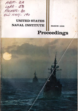 March 1968 Proceedings Magazine: United States Naval Institute
