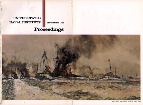 September 1968 Proceedings Magazine Expanded Front Cover