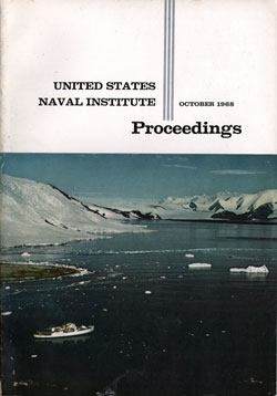 October 1968 Proceedings Magazine: United States Naval Institute