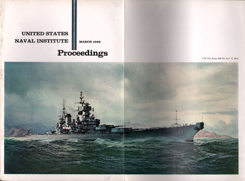 March 1969 Proceedings Magazine Full Cover