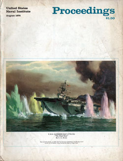 August 1976 Proceedings Magazine: United States Naval Institute