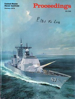 January 1979 Proceedings Magazine: United States Naval Institute