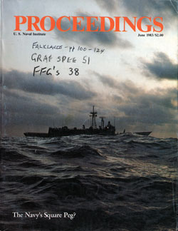 June 1983 Proceedings Magazine: United States Naval Institute