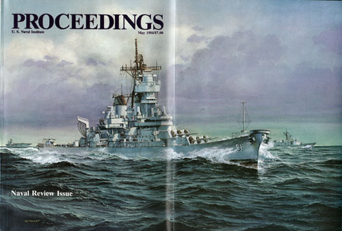 May 1984 Proceedings Magazine Expanded Cover
