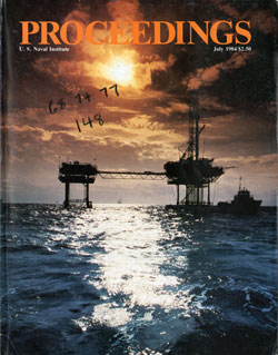 July 1984 Proceedings Magazine: United States Naval Institute