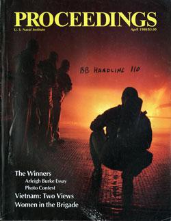 April 1988 Proceedings Magazine: United States Naval Institute