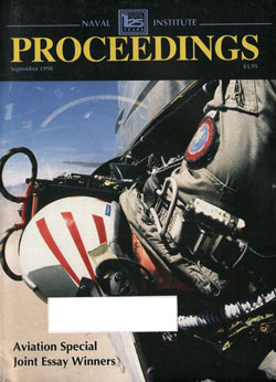 September 1998 Proceedings Magazine: United States Naval Institute
