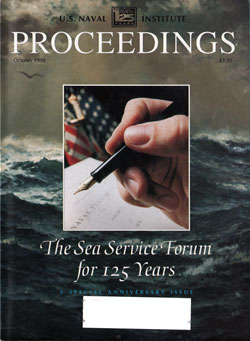 October 1998 Proceedings Magazine: United States Naval Institute