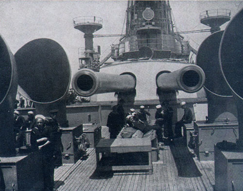 Deck of One of Our Super Dreadnoughts