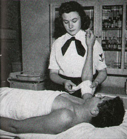 WAVE in the Hospital Corps