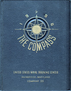 1956 Company 221 Bainbridge US Naval Training Center Roster - Compass