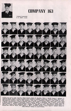Page One, Recruit Company 163, 1947