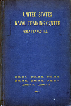 United States Naval Training Center, Great Lakes, Illinois, 1948 Company 9 through Company 16