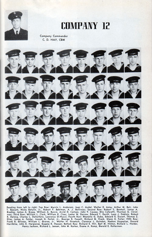 Page One, Recruit Company 12 of 1948