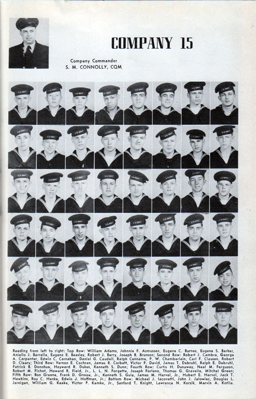 Page One, Recruit Company 15 of 1948