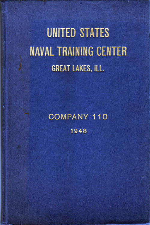 Front Cover, Navy Boot Camp 1948 Company 110 The Keel