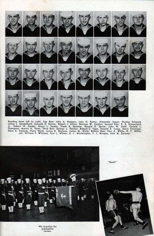 Page Three, Recruit Company 343 of 1948