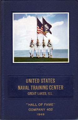 United States Naval Training Center, Great Lakes, Illinois, 1948 Hall of Fame Company 402