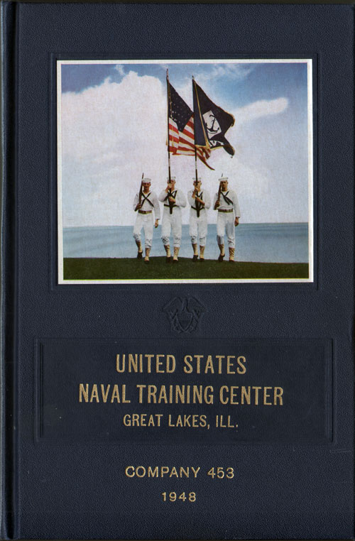 1948 Recruit Company 453, Great Lakes Naval Training Center