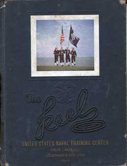 Front Cover, Navy Boot Camp Yearbook 1949 Company 205