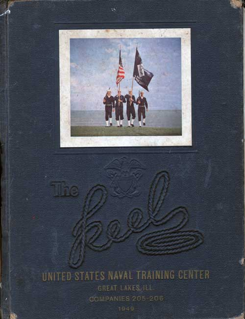 Navy Boot Camp Yearbook 1949 Company 205