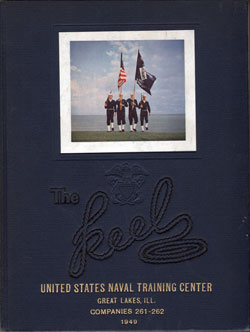 Front Cover, Navy Boot Camp Yearbook 1949 Company 261
