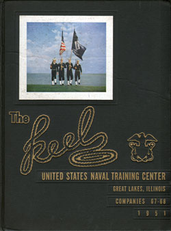 Front Cover, Navy Boot Camp 1951 Company 068 The Keel