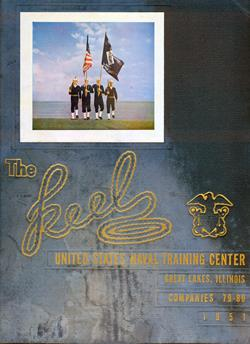 Front Cover, Navy Boot Camp 1951 Company 079 The Keel