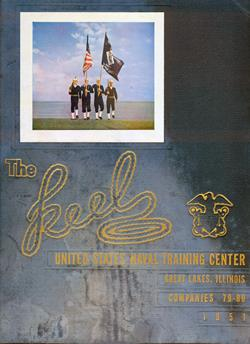 Front Cover, Navy Boot Camp 1951 Company 80 The Keel